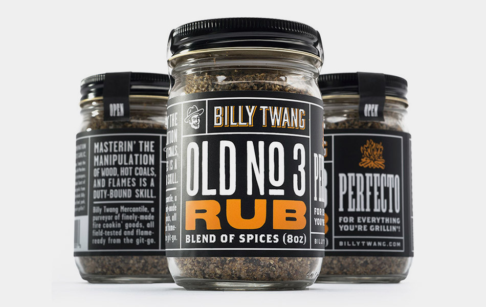 Billy Twang Old No. 3 Rub for Your Meat