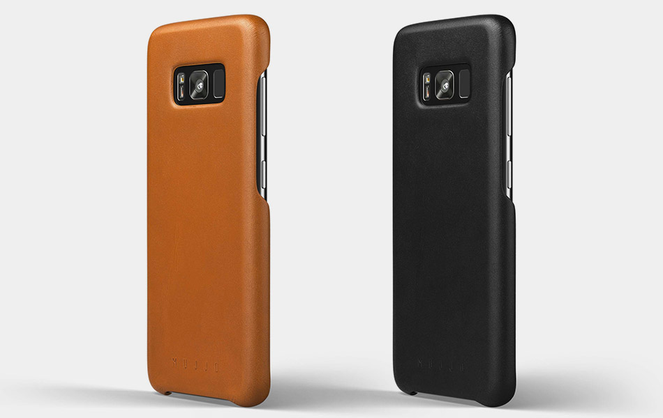 quality design c9963 5afd1 Mujjo Galaxy S8 Leather Case | GearCulture
