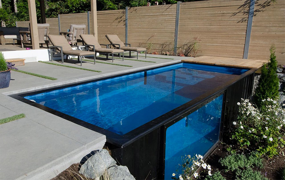 Modpool shipping container pool gearculture - Shipping container pools ...
