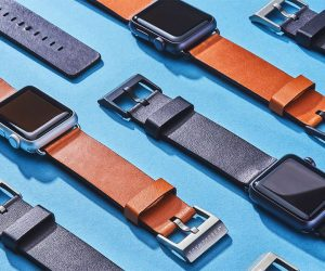 Grovemade Leather Apple Watch Band