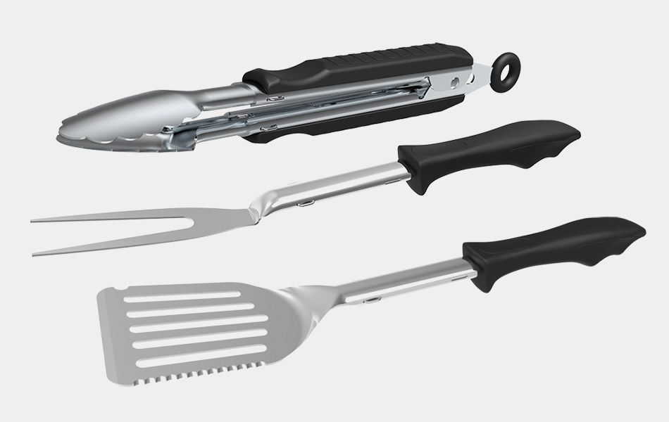 Outdoor Edge Cut-N-Cue BBQ Set