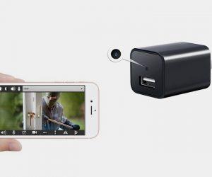 SooSpy Wall Charger Smart Spycam