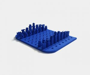 Credit Card Sized Chess Set