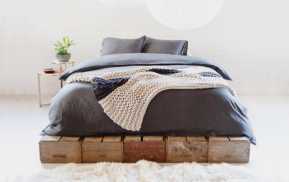 Loomstead Linen Duvet + Pillow Shams