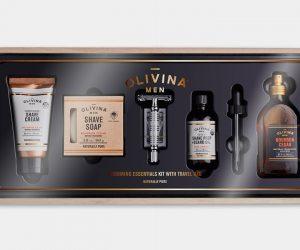 Olivina Men Premium Shave Kit