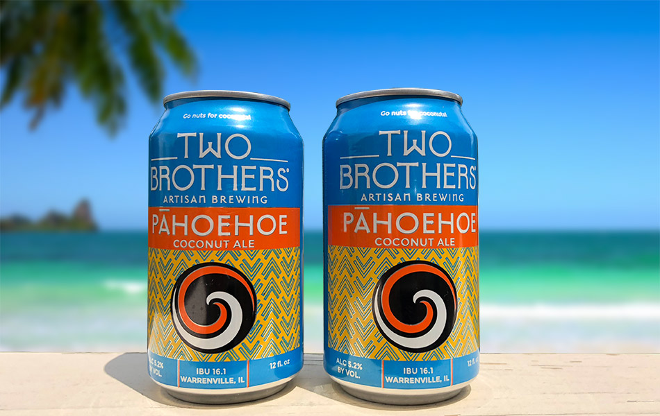 Two Brothers Pahoehoe Coconut Ale