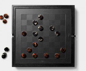 Shinola Backgammon and Checkerboard Game Set