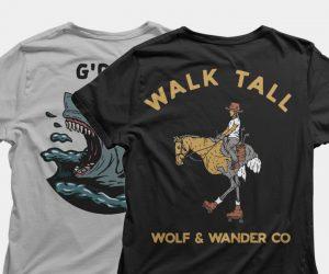 Wolf & Wander Tees