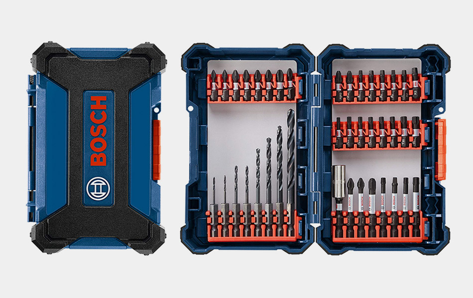Bosch Impact Tough Drill Driver Custom Case System Set