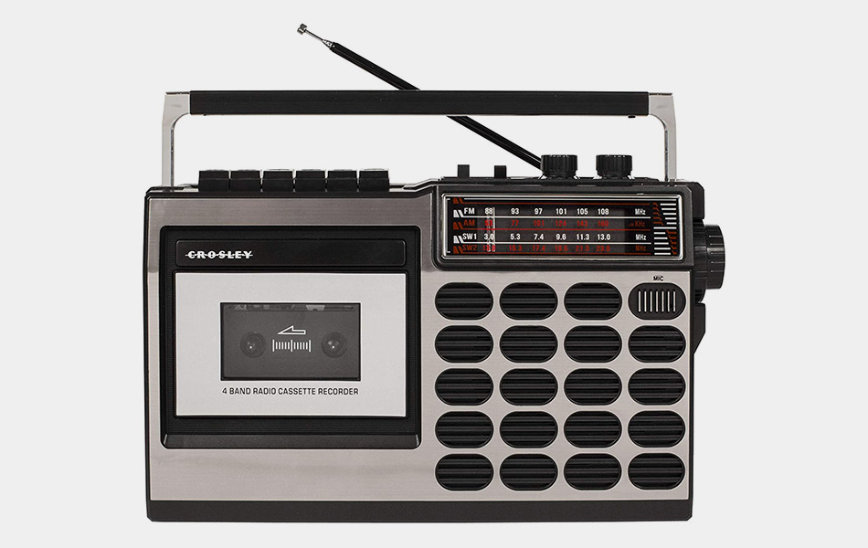 Crosley Retro Tape Deck