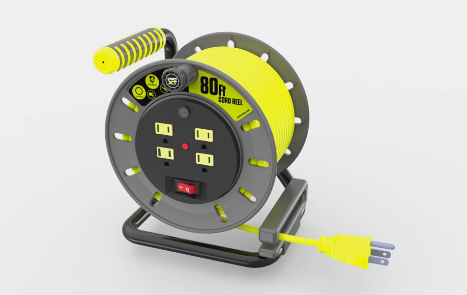 MasterPlug Portable Cable Reel