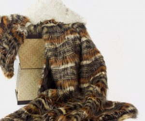 PoshPelts Faux Fur Throws & Pillows