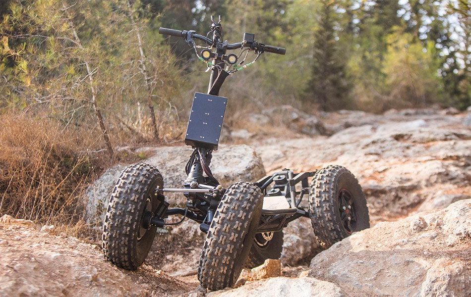 EZRaider Go Anywhere Scooter