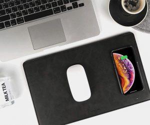 GAZEPAD Wireless Charging Mouse Pad Mat