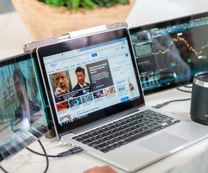 Trio Laptop Monitor