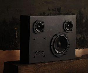 Transparent Sound Steel Speakers