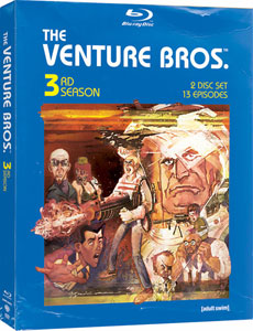 Adult Swim Venture Bros. Season 3