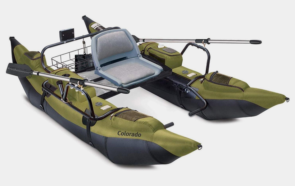 Classic Accessories Colorado Fishing Pontoon Boat