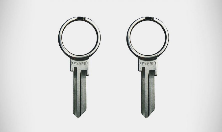 Keybrid Split Ring Key