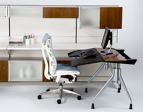 Herman Miller Envelop Desk