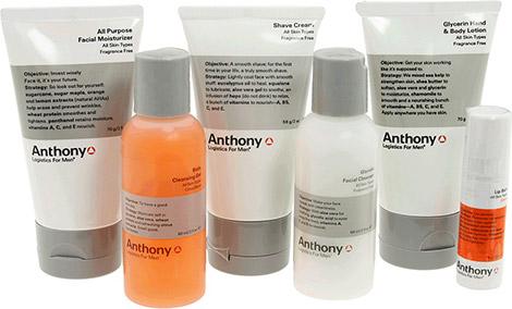 Anthony Logistics For Men Clean Starter Kit