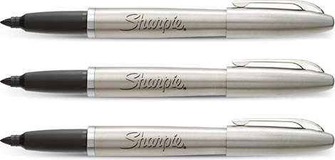 Sharpie Stainless Steel Permanent Marker