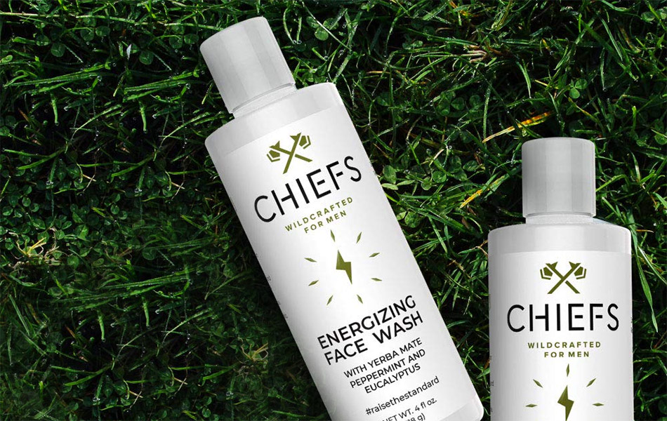 Chiefs Energizing Face Wash