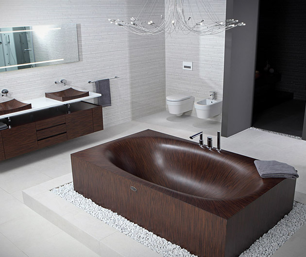 Alegna Wooden Bathtubs