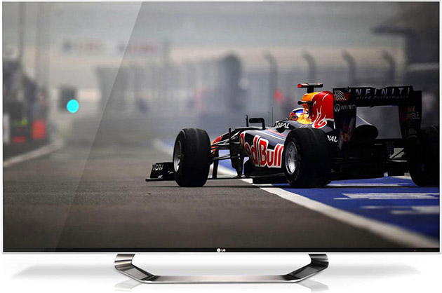 LG OLED 3D Smart TV