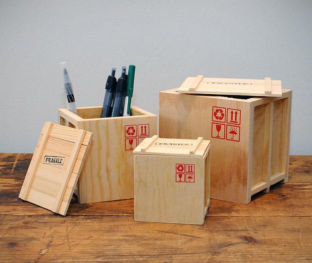 Desk Crates