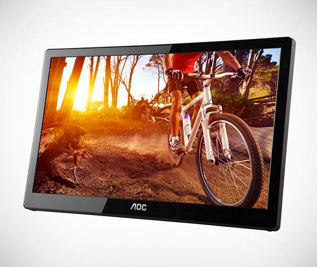 AOC E1659FWU Portable LCD Monitor