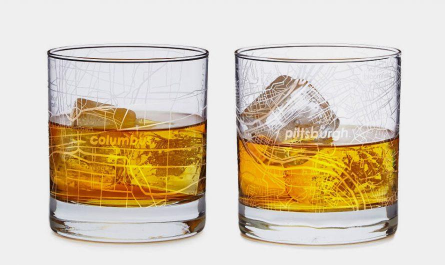 City Map Glass