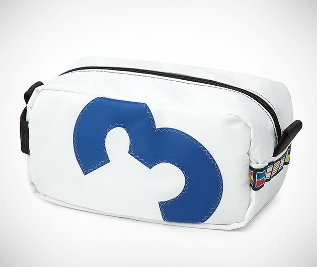 Recycled Sailcloth Dopp Kit