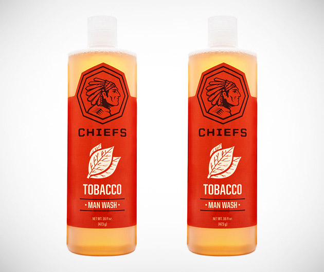 Chiefs Tobacco Man Wash