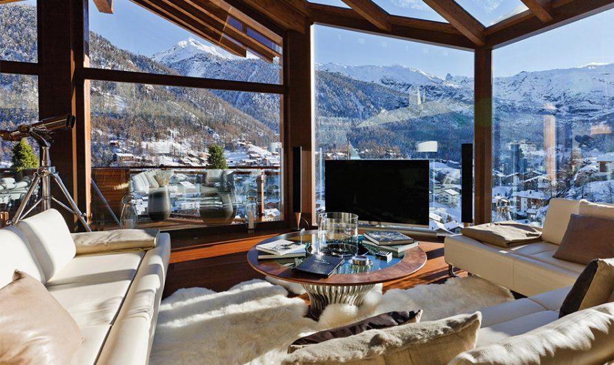6 Star Ultimate Swiss Luxury Chalet Zermatt Peak
