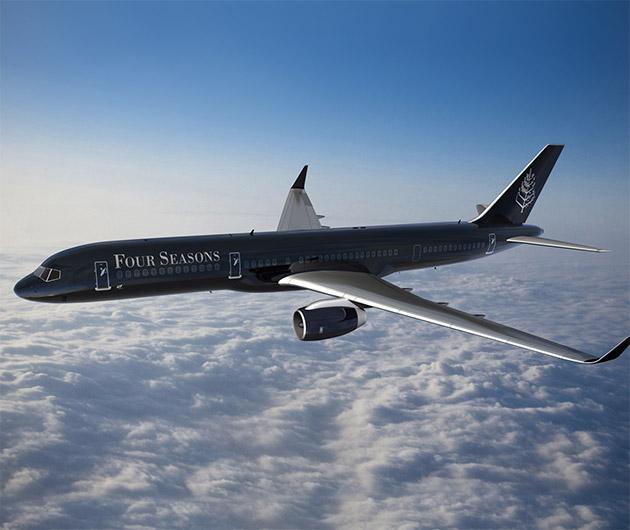 Four Seasons Private Jet Around the World Tour