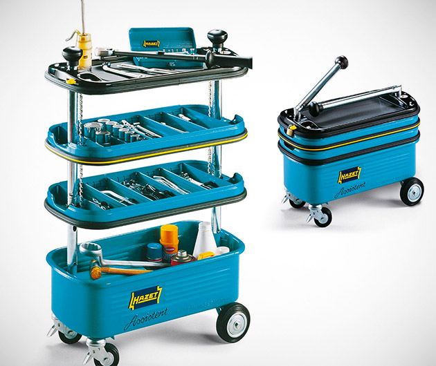 Collapsible Tool Trolley