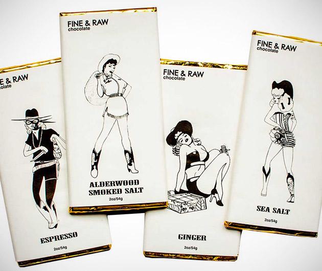Fine & Raw Cowgirl Chocolate Bars