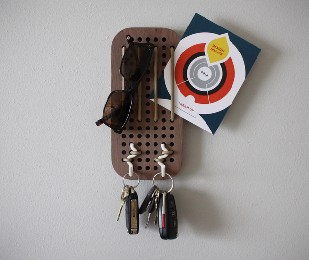 Human Crafted Peg Board