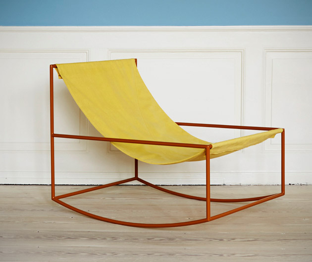 Muller Van Severen First Rocking Chair