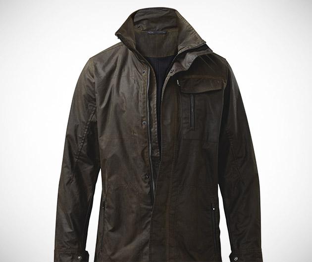 QOR Alpha Waxed Cotton Jacket