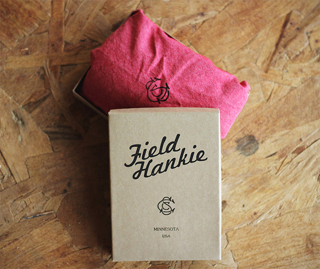 Sandborn Canoe Co. Field Hankie