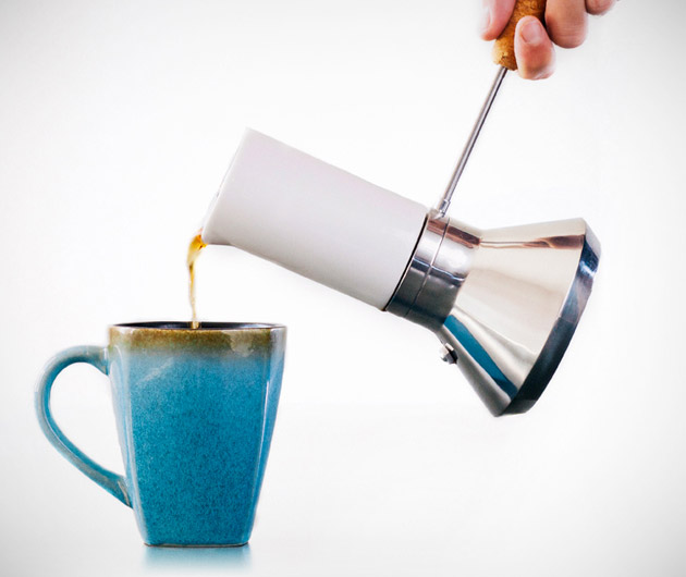 Blue Bottle Moka Pot