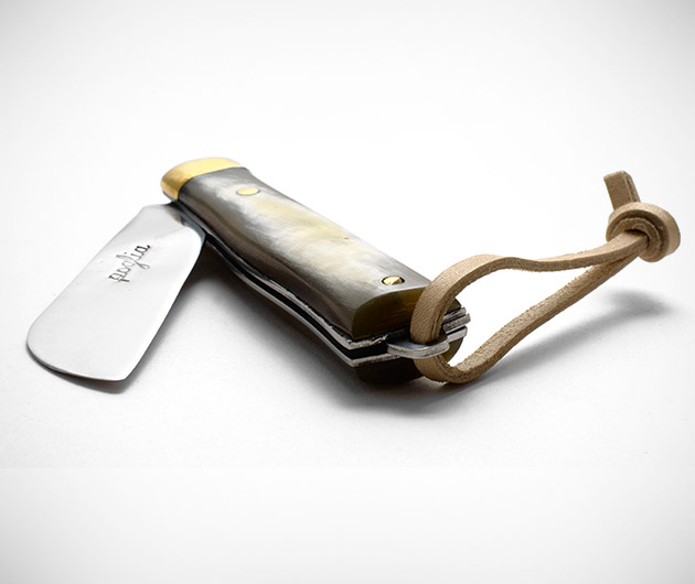 Poglia & Co. Horn Pocket Knife