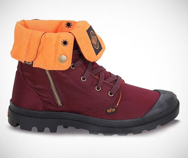 Baggy Zip MA-1 Boots