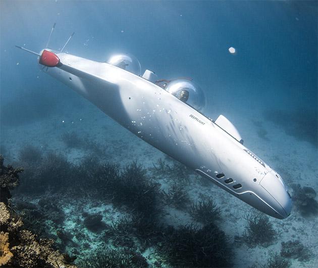 Deepflight Super Falcon Mark II Personal Submarine