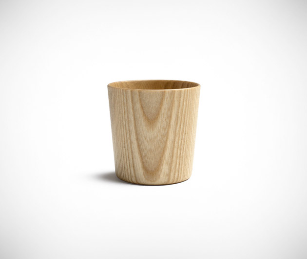 Oji Masanori Wooden Shot Glass