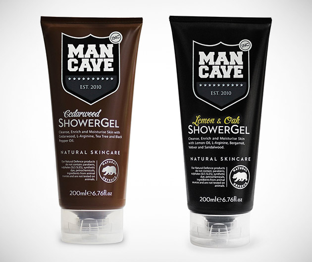 Man Cave Shower Gels