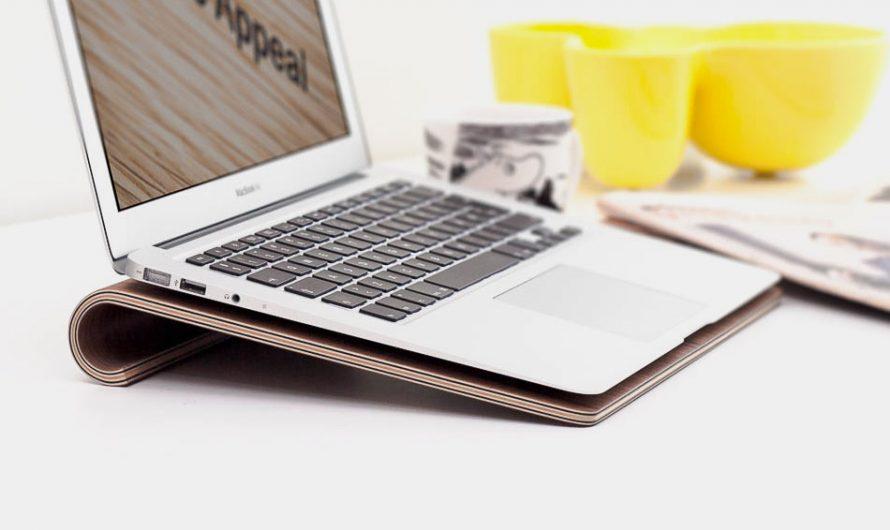 Nordic Appeal Wooden MacBook Stand