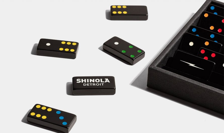 Shinola x Crisloid Domino Set
